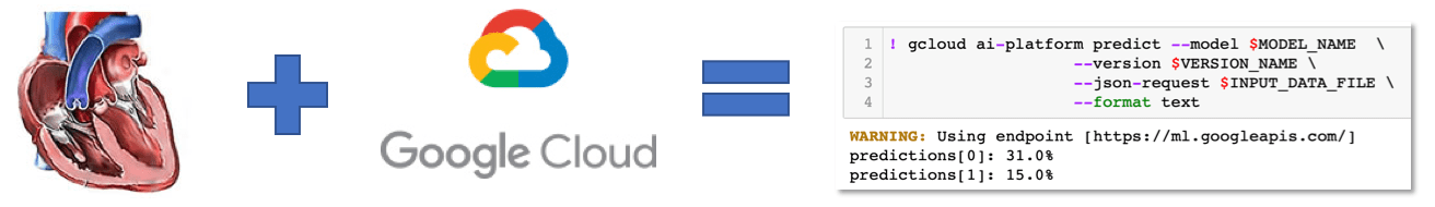Heart Disease Model Deployment on the Google Cloud